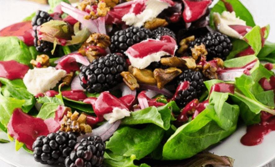 Blackberry Salad | The Backstretch